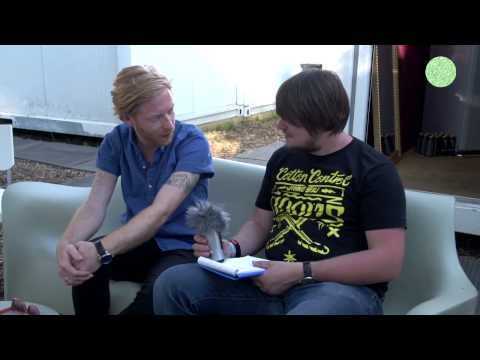 Interview with James Johnston of Biffy Clyro -  Branzfinder TV