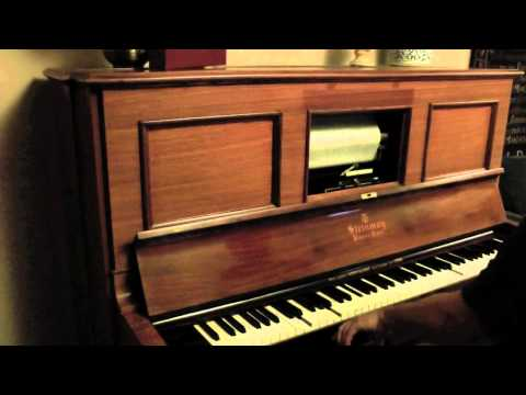 James P. Johnson - 'Roumania' - on a Steinway Pianola