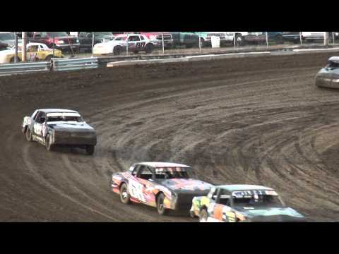IMCA Hobby Stock heats Independence Motor Speedway 6/6/15