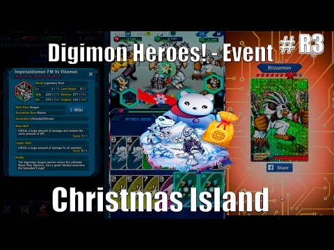 Digimon Heroes! - Event =Christmas Island (# R3)