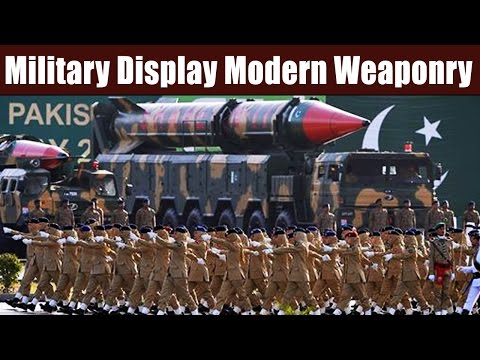 Pakistan Military Display Modern Weaponry - Missiles, Tanks and Fighter Jets