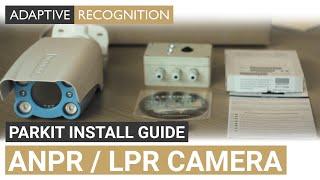 ANPR / LPR technology - LetUgo ParkIT Install guide  - ARH Inc.