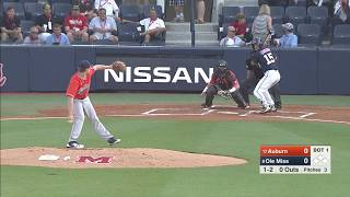 Auburn Baseball vs Ole Miss Highlights Game 1