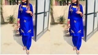 Beautiful Punjabi Suits Design!!  Latest Punjabi suits design idea For girls!!Punjabi Dresses Design