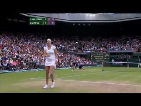 Wimbledon 2012, QF S.Williams vs Kvitova