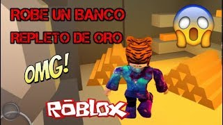 BANK A GOLD BANK!!! AND I PRESENT MY HOUSE-ROBLOX