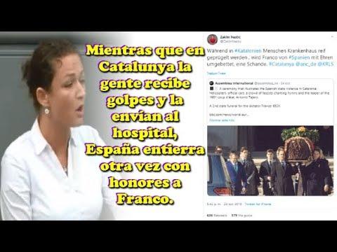"""Resultado de imagen de Una diputada alemana, escandalizada por el trato español a Franco: """"Una vergüenza"""""""