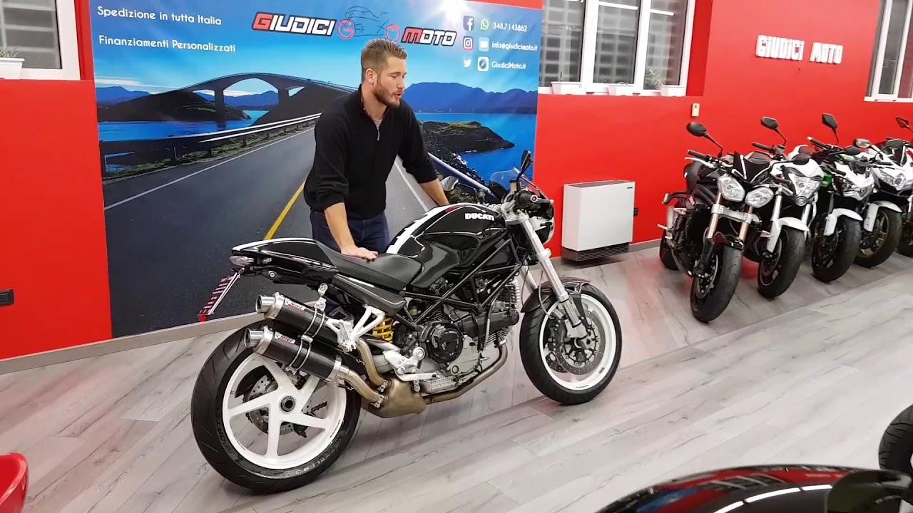 ducati monster s2r 1000 giudici moto. Black Bedroom Furniture Sets. Home Design Ideas