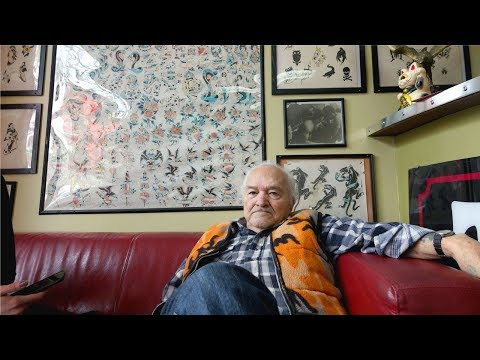 Tattoo Tony: 83-year-old Artist Keeps Old-school Style Alive