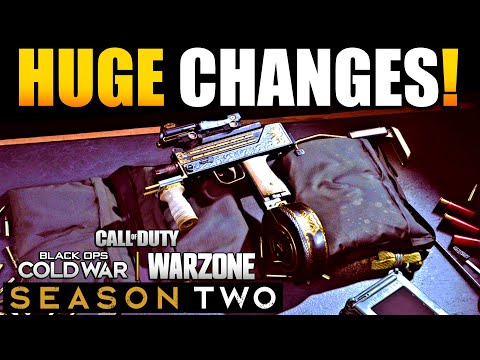 Huge Changes to Mac-10 in Season 2 of Warzone After 1.32 Update | Mac 10 Best Class/Loadout CoD BR