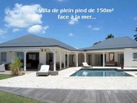 Vid o location d 39 une villa de prestige en guadeloupe for Villa de luxe contemporaine