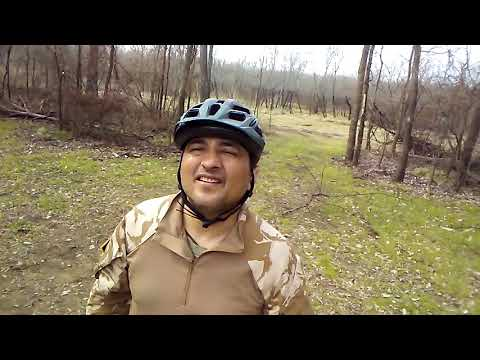 Riding trails at the Trinity River Audubon Center (AT&T Trail) great adventure. Part 6 of 7