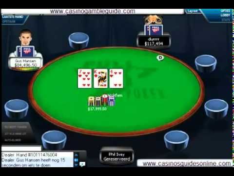 Watch poker games