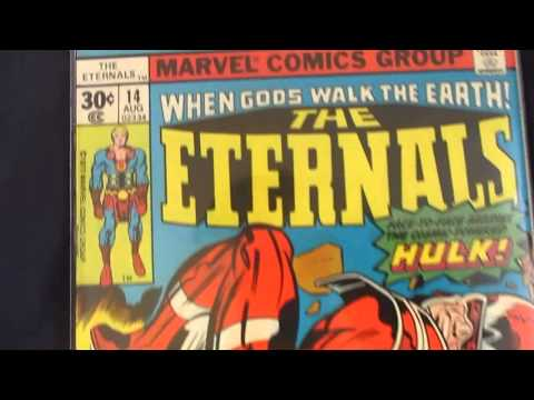 The Eternals #14  - (1977) / ( First App. Cosmic Powered Hulk)