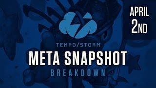 Hearthstone Meta Snapshot Breakdown: April 2nd, 2017