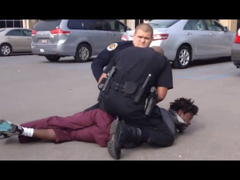POLICE BRUTALITY & POLICE STATE USA - ARRESTED for Entering a CHURCH