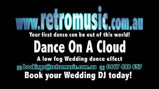 Wedding low fog Wedding dry ice effect Wedding DJ Hire Sydney Bowral Katoomba