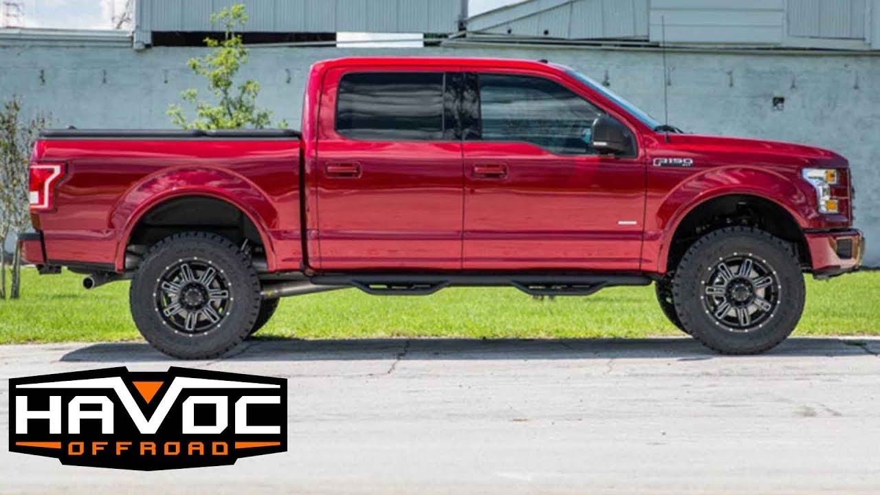 Review Of The Havoc Off Road 4 Lift Kit For 2015 Ford F150 Youtube