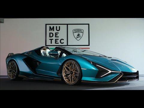 Lamborghini Sián Roadster: World Premiere