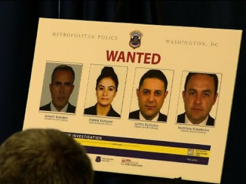 Warrants Issued for Turkish Agents in DC Clash