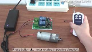 Heavy Duty 30A Motor Controller Controls DC Motor Positive and Reverse Rotation