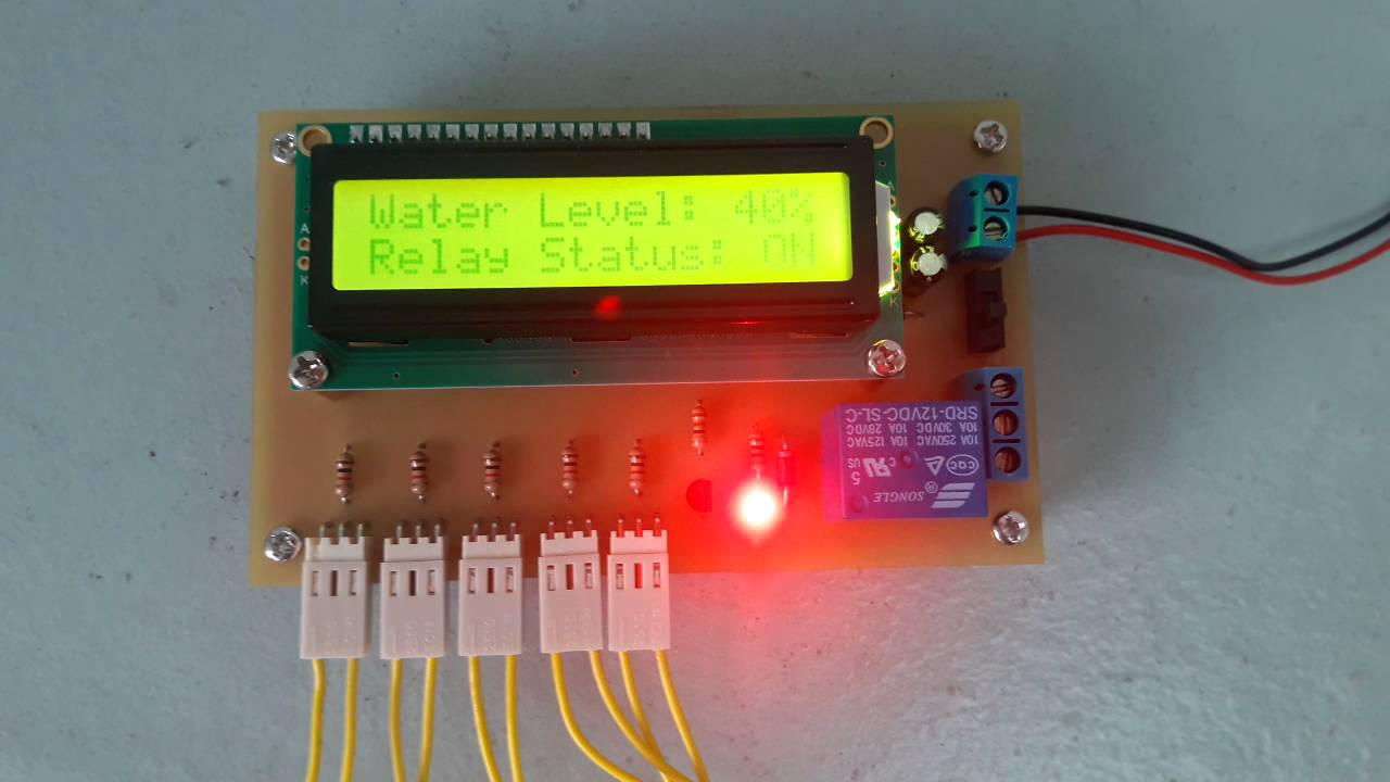 Project Arduino Auto Water Level