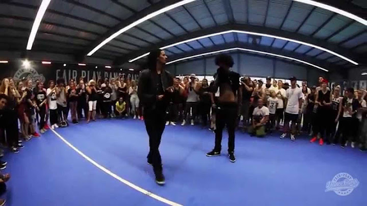 les twins freestyle at fair play dance camp 2015