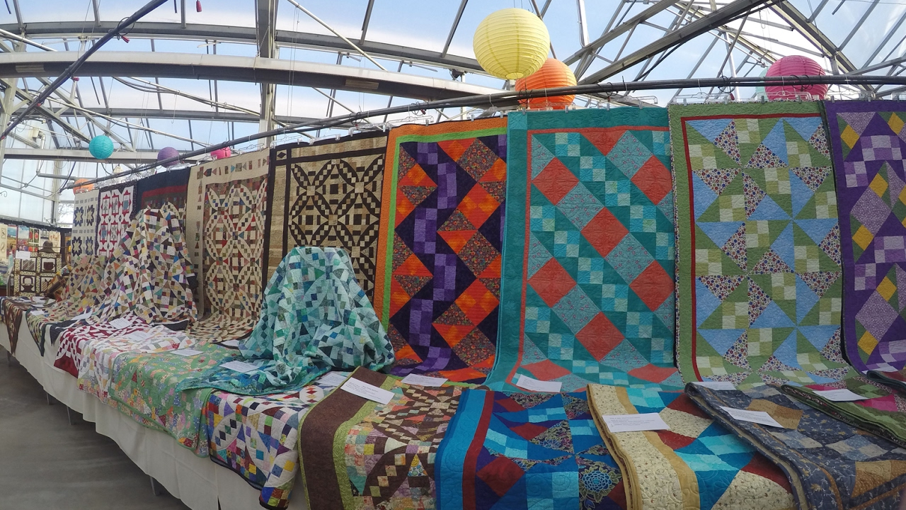 Quilt Show By The Plum Creek Quilters