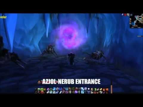 Azjol Nerub Ahn Kahet Entrance Locations Wrath Of The Lich King