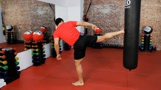 How to Do a Sidekick | Kickboxing Lessons