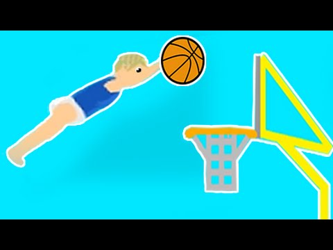 IMPOSSIBLE BABY BASKETBALL DUNK! (Happy Wheels #18)