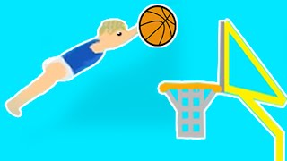 Impossible Baby Basketball Dunk!  Happy Wheels #18