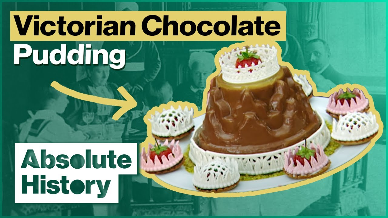 How To Create A Chocolate Pudding The Victorian Way   Royal Upstairs Downstairs   Absolute History