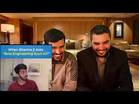 ENGINEER vs Sharmaji  Funny Pakistani Reaction [Reaction CoMpLex]