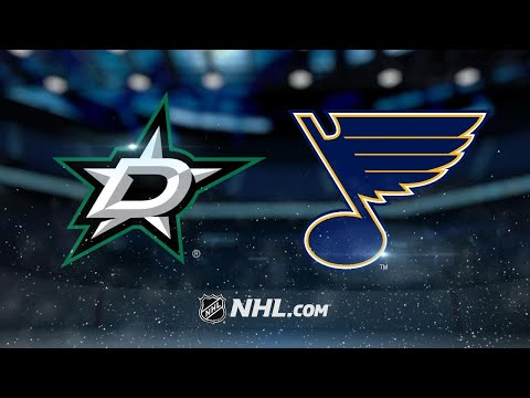 Three-goal 1st leads Blues to 4-2 win vs. Stars