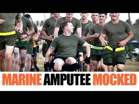 Marine Amputee Mocked For Cowboys Jersey