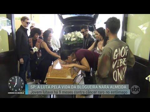 Amigos e familiares se despedem de Nara Almeida com homenagens | Primeiro Impacto (23/05/18)