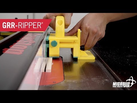 A Must-Have for Any Table Saw - GRR-RIPPER 3D Pushblock and GRR-RIPPER Advanced