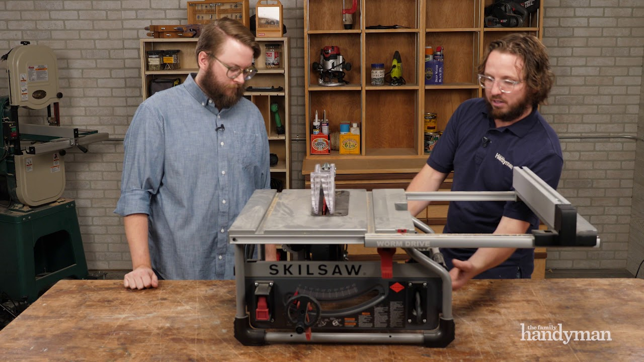 stuff we love: skilsaw 10-in. portable worm drive table saw