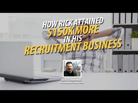 How Rick Attained Over $150K Within 60 Days