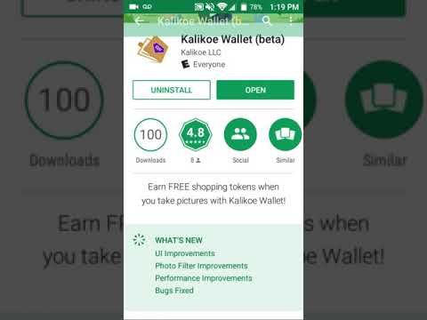 How to use Kalikoe Wallet beta