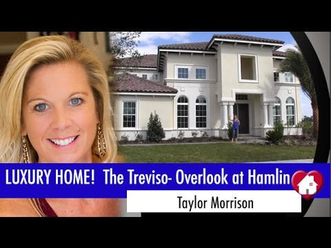 New Homes Winter Garden Florida Treviso Inventory Home Overlook at Hamlin by Taylor Morrison