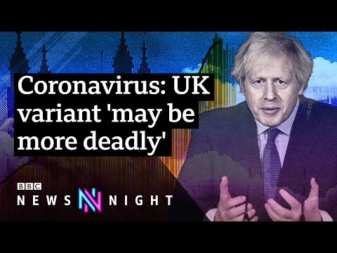 UK coronavirus variant 'may be more deadly': What now for the UK? - BBC Newsnight