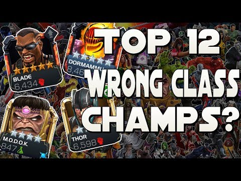 12 Champions That Players Say are Classed Wrong [Marvel Contest of Champions]
