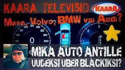 Mikä auto Antille uudeksi Uber Black -autoksi vuonna 2020?