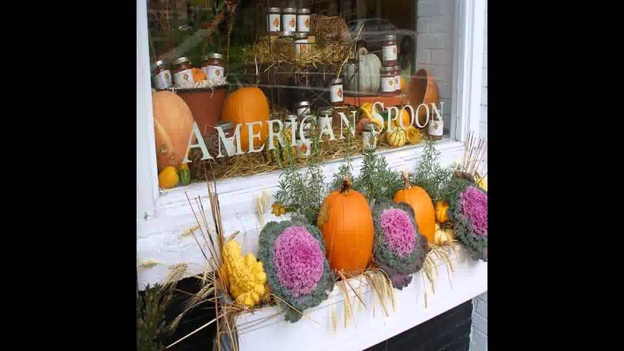 Creative Fall window box ideas - Home Art Design ...
