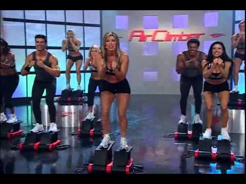 Air Climber Burn & Firm Workout