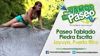 Paseo Tablado Piedra Escrita, Jayuya, Puerto Rico