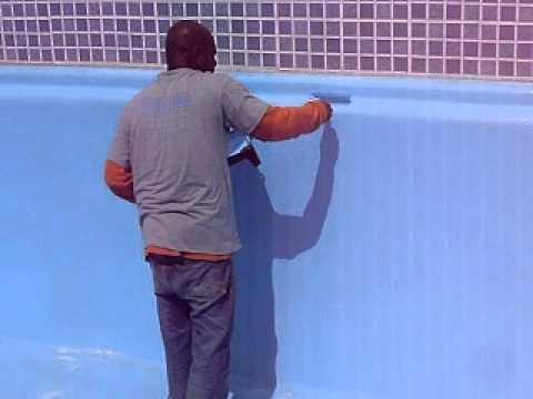 Pintura em piscina youtube for Piscina bebe con parasol