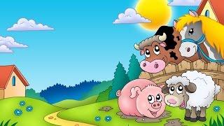 Как говорят животные? Развивающий мультфильм для детей - Учим голоса животных - Развитие речи